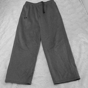 YXL Under Armour Athletic Pants Gray